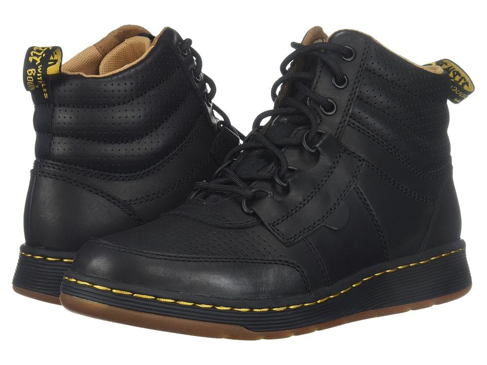 Dr. Martens Derry 6-Eye Chukka Boot (Black Temperley/Black Webbing) Men