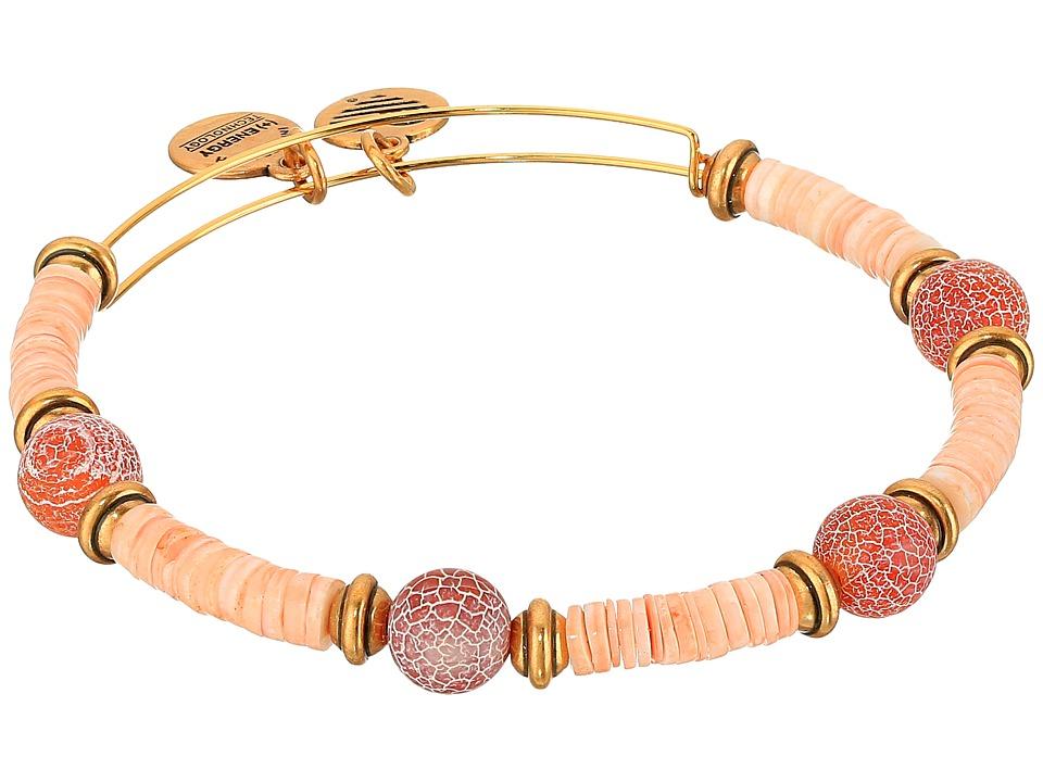 Alex and Ani - Cosmic Messages - Horizon Terra Bangle (Rafaelian Gold) Bracelet