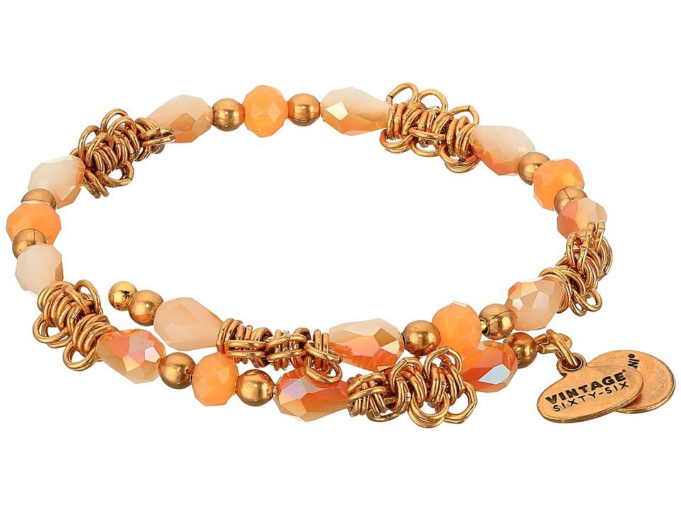 Alex and Ani - Cosmic Messages - Fate Terra Wrap Bracelet (Rafaelian Gold) Bracelet