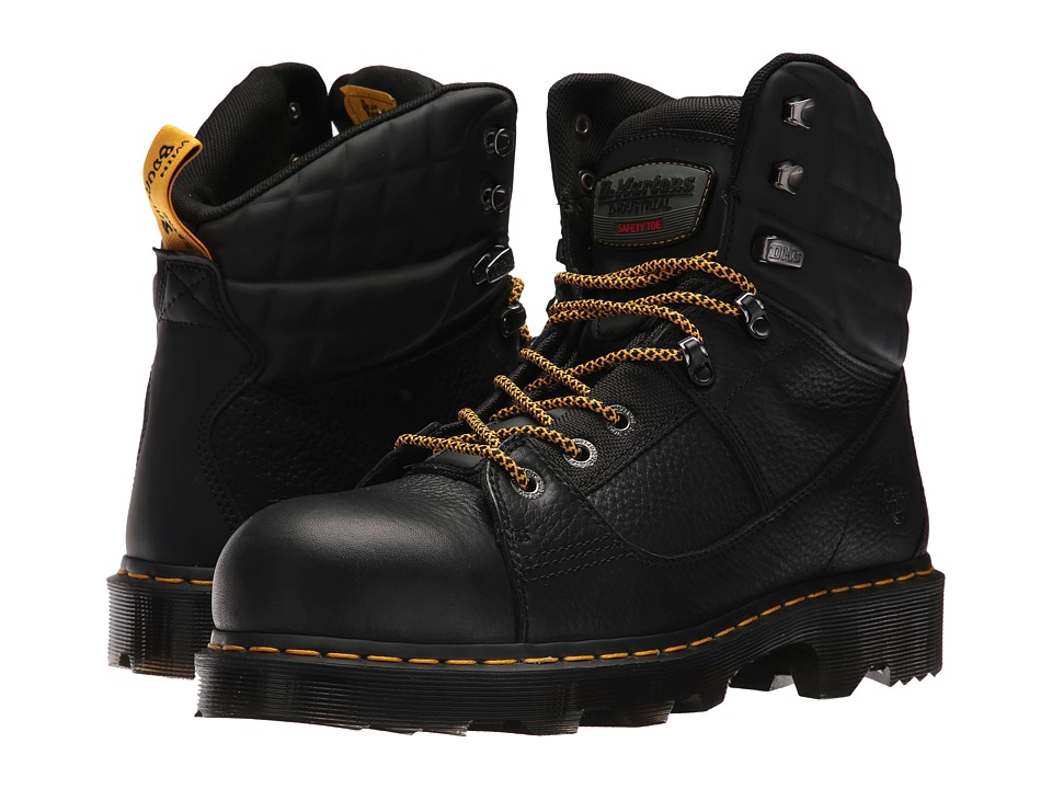 Dr. Martens Camber Alloy Toe (Black Industrial Bear/Black Soft Rubbery) Boots