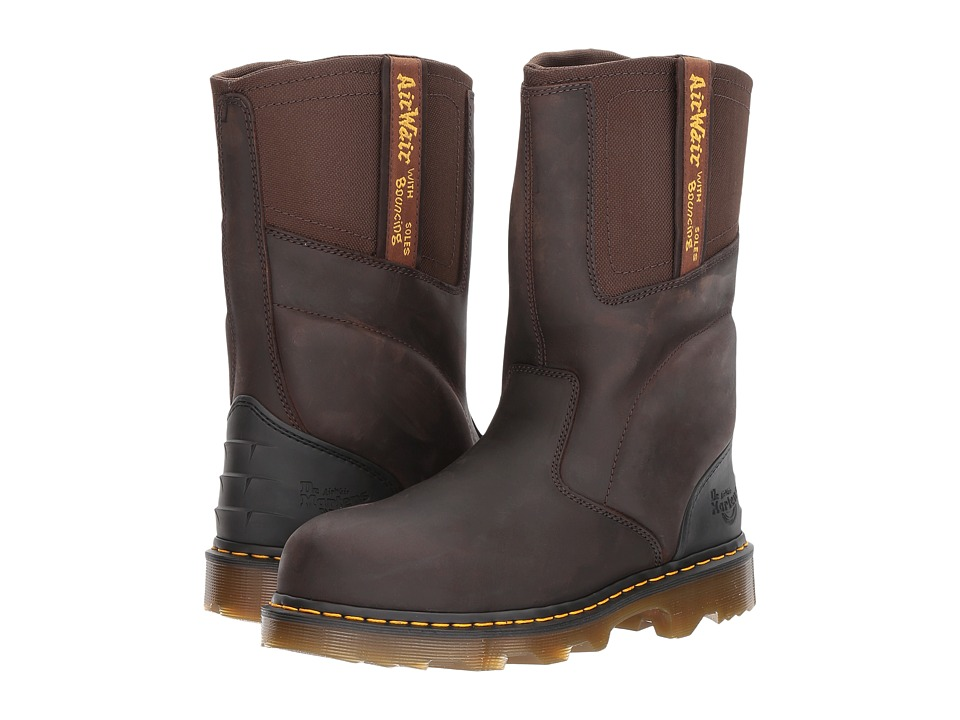 Dr. Martens - Kirkham EW (Gaucho Volcano/Dark Brown Extra Tough Nylon) Men's Boots