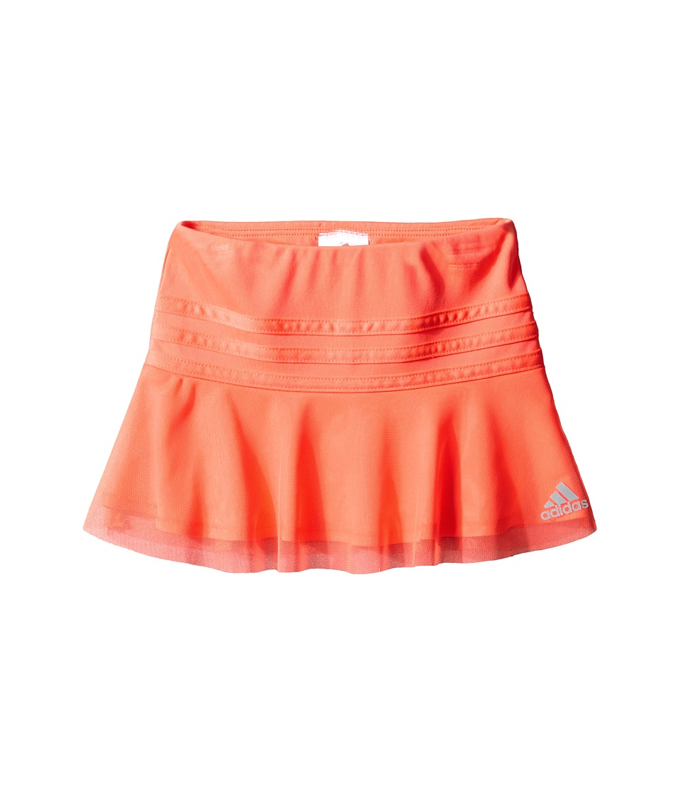adidas Kids - Sweeper Skort (Toddler/Little Kids) (Bright Red) Girl's Skort
