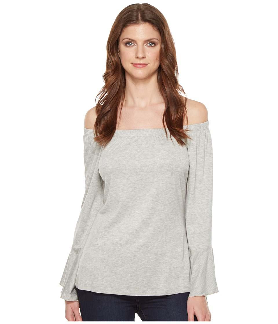 Union of Angels - Veronica Top (Gray) Women's Clothing