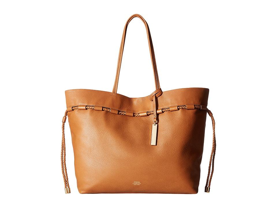 Vince Camuto - Sada Tote (Dark Rum) Tote Handbags