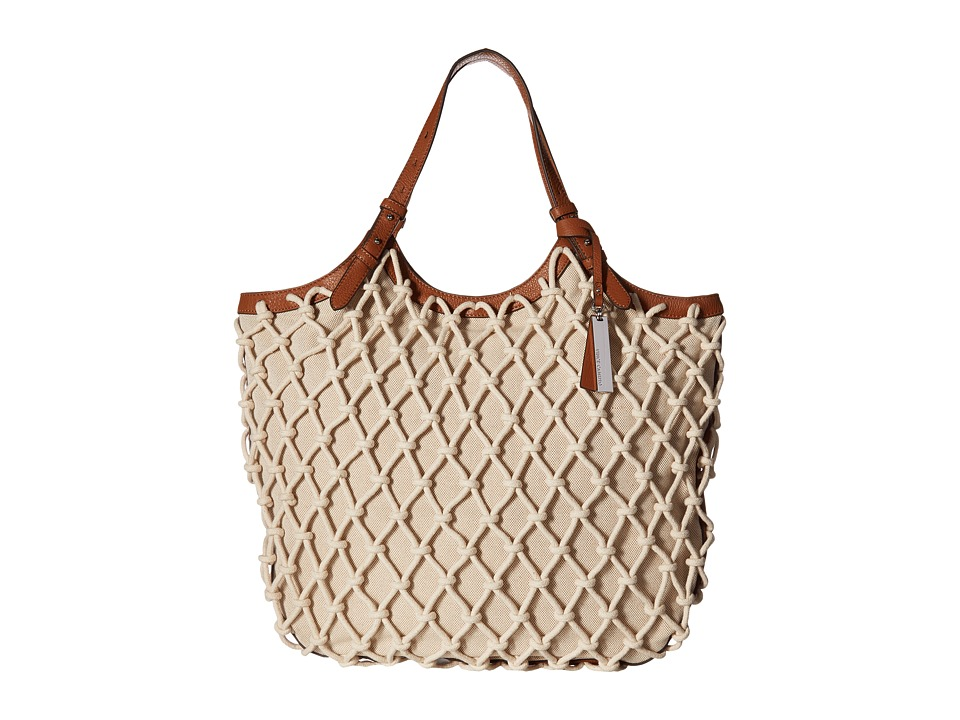 Vince Camuto - Leta Tote (Natural/Whiskey) Tote Handbags