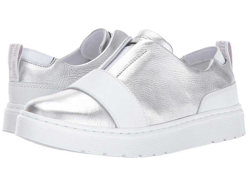 Dr. Martens Lylah Slip-On Shoe (Silver Santos/White Venice) Women