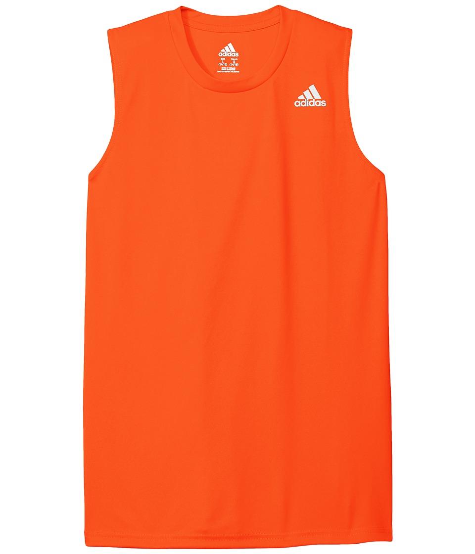 adidas Kids - Basic Tank Top (Big Kids) (Medium Orange) Boy's Sleeveless