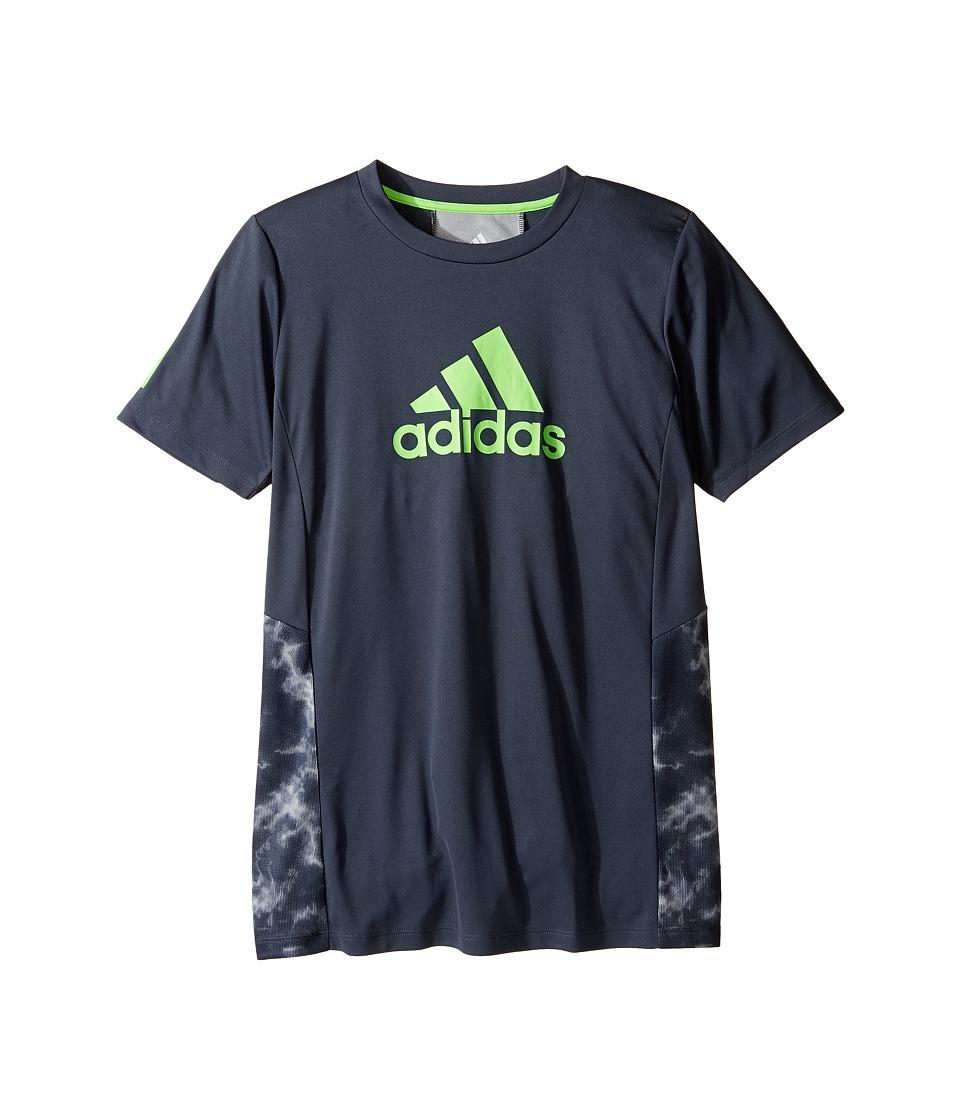 adidas Kids - Smokescreen Training Top (Big Kids) (Navy) Boy's Clothing