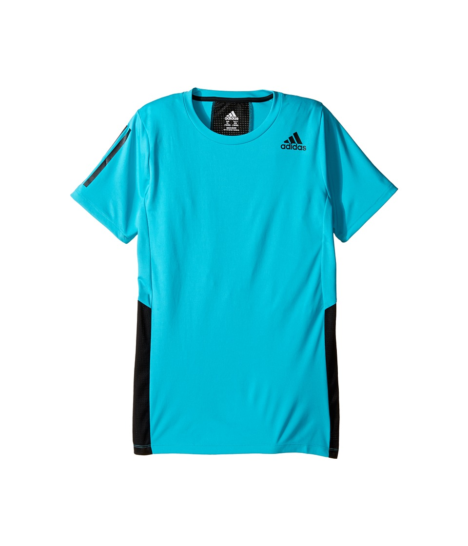 adidas Kids - Evolve Training Top (Big Kids) (Turquoise) Boy's Clothing