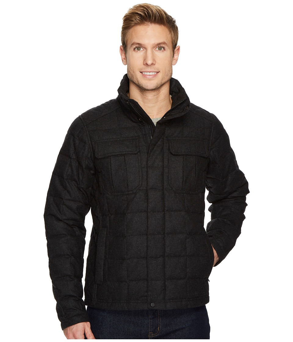 NAU Utility Wool Down Jacket (Caviar Heather) Men