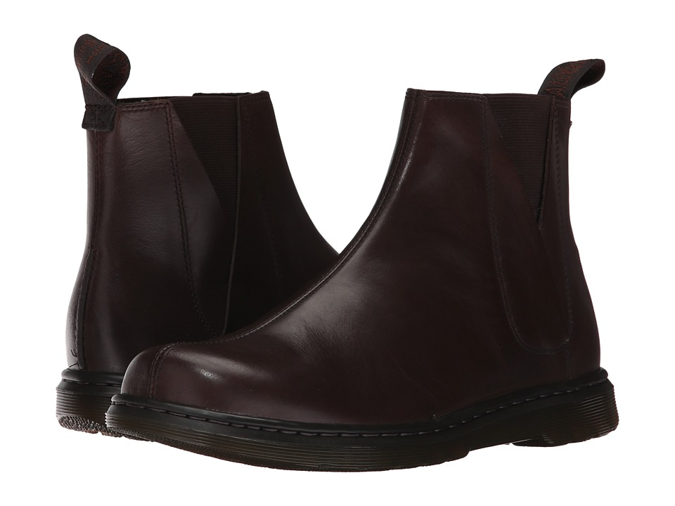 Dr. Martens Noelle Chelsea Boot (Dark Brown New Oily Illusion) Women