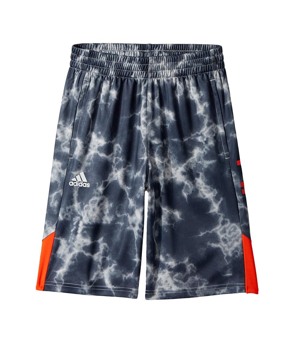 adidas Kids - Smokescreen Shorts (Big Kids) (Dark Grey) Boy's Shorts