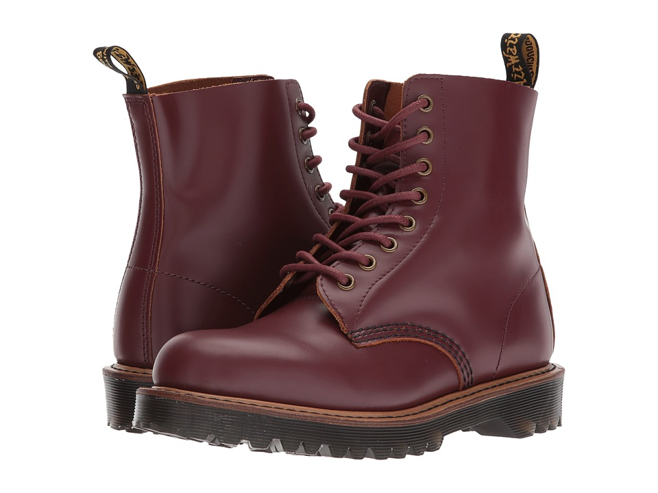 Dr. Martens Pascal II 8-Eye Boot (Oxblood Vintage Smooth) Women