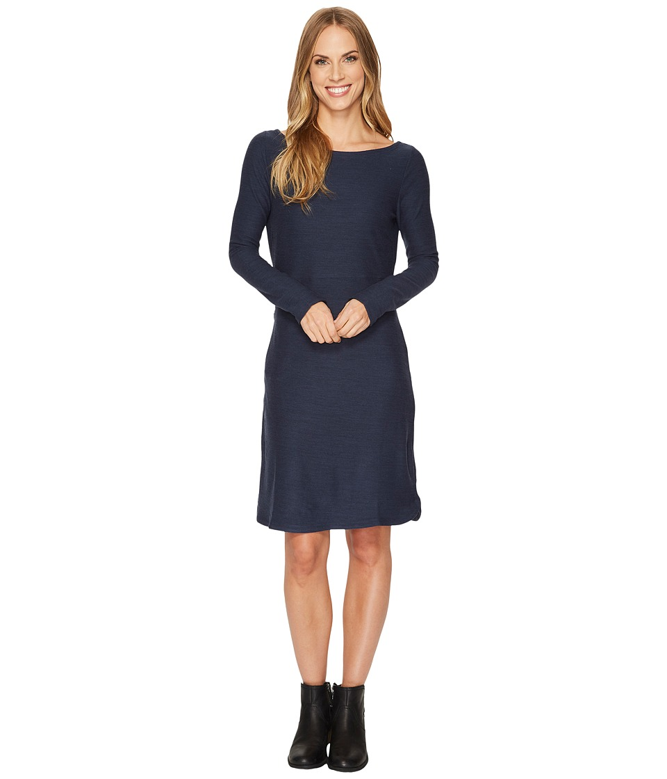 Toad&Co Intermosso Dress (Deep Navy) Women