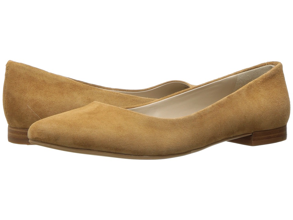 G.H. Bass & Co. - Kayla (Tan Suede) Women's Shoes