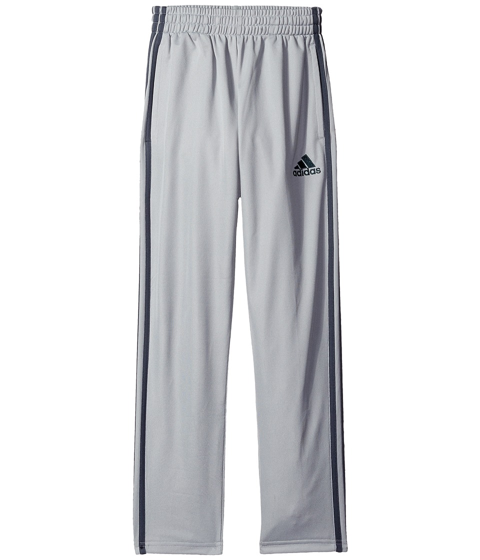 adidas Kids - Team Trainer Pants (Big Kids) (Silver Grey) Boy's Casual Pants