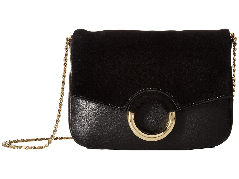 Vince Camuto - Adina Small Crossbody (Black) Cross Body Handbags