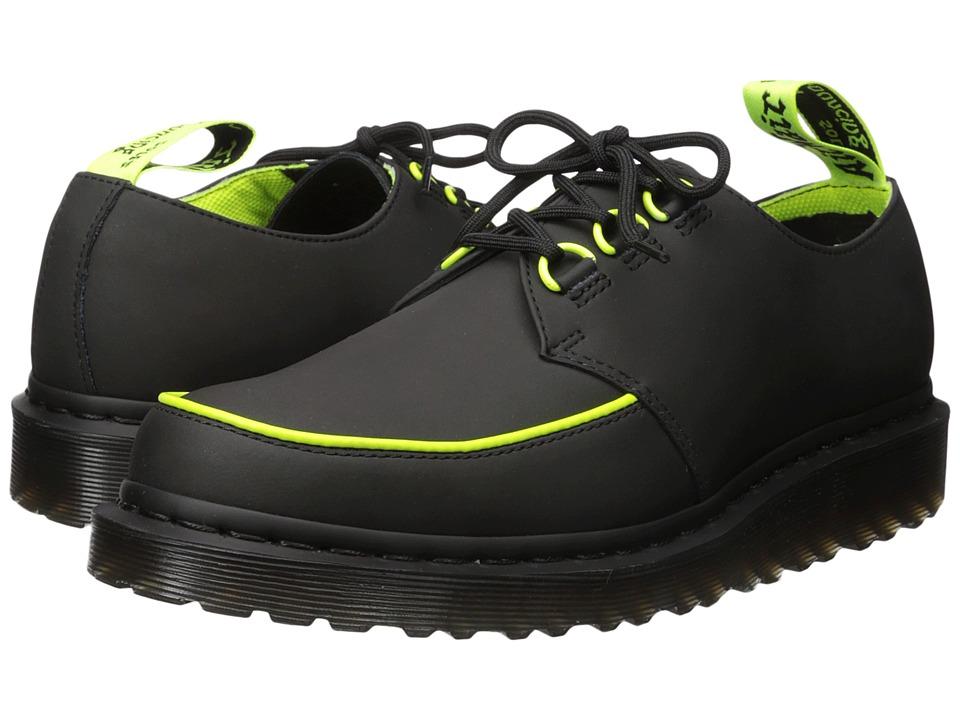 Dr. Martens Ramsey Alt Creeper (Black Concept/388C Neon Yellow PU Binding) Men