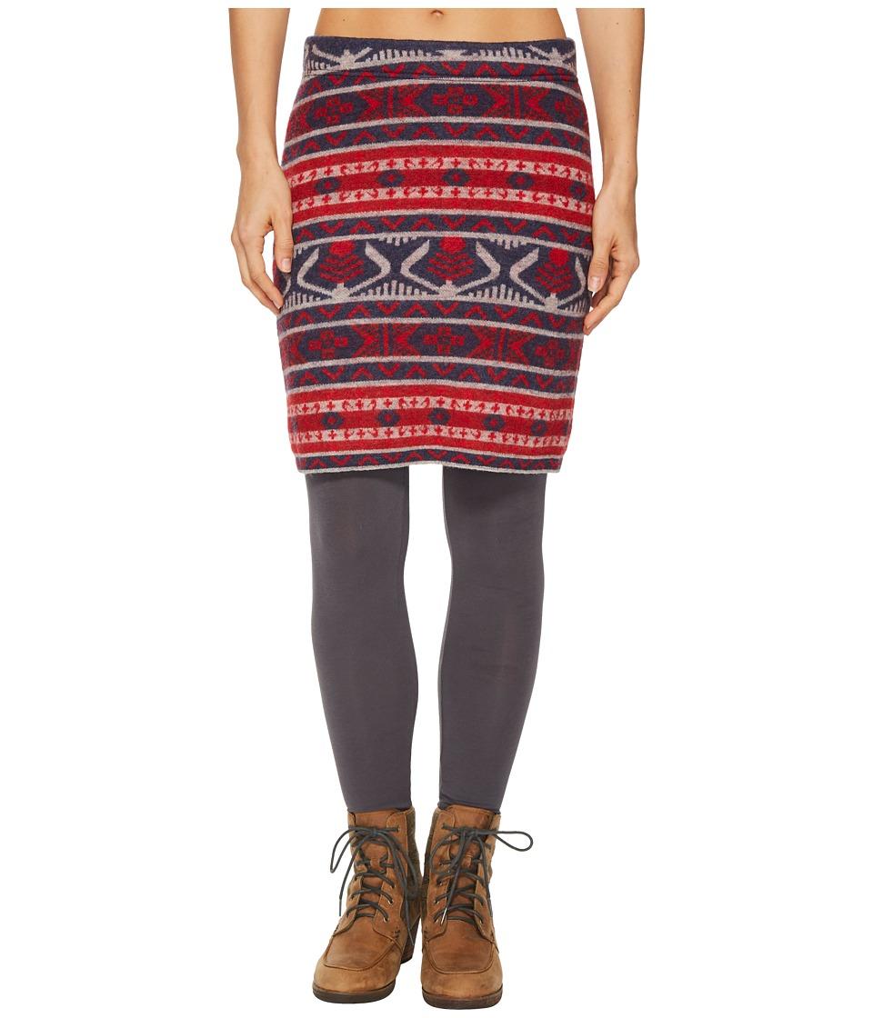 Toad&Co Merritt Sweater Skirt (Deep Navy) Women