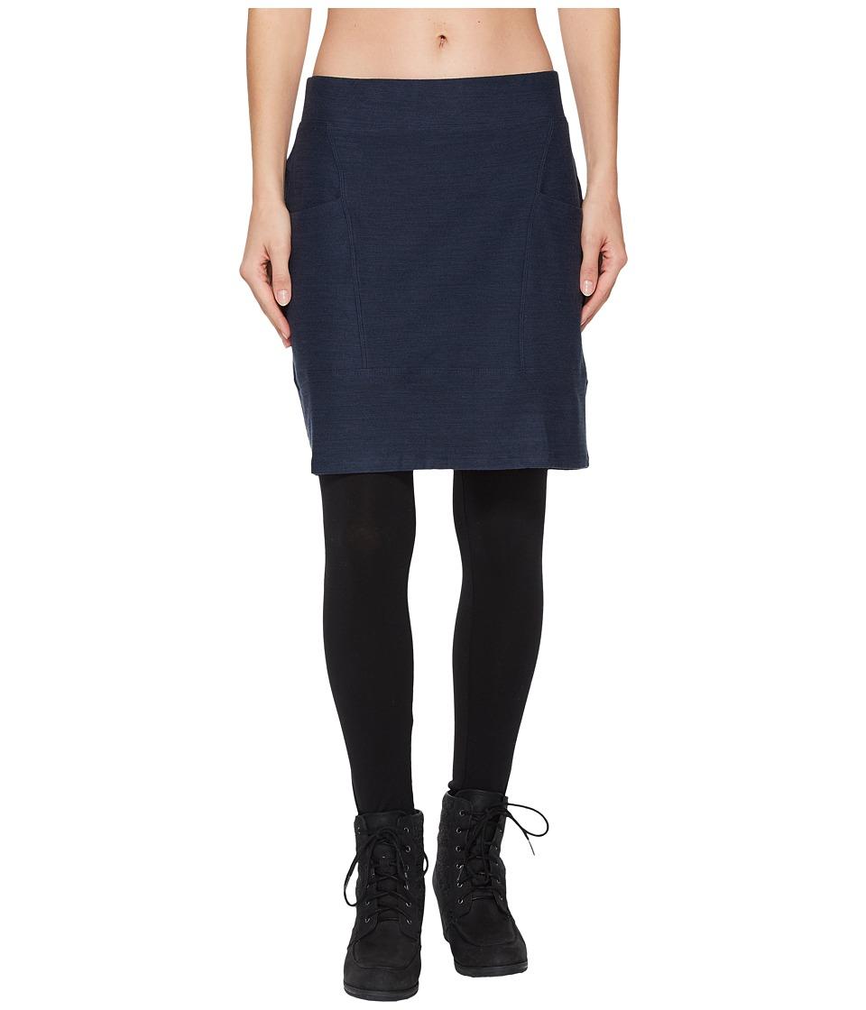 Toad&Co Intermosso Skirt (Deep Navy) Women