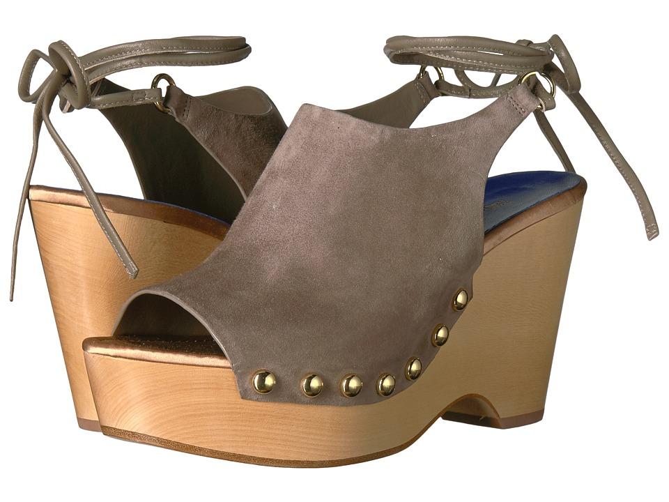 Diane von Furstenberg - Bali (Mushroom Kid Suede) Women's Shoes