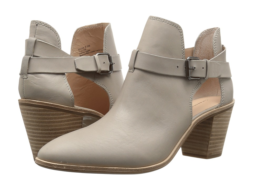 G.H. Bass & Co. Sylvia (Cloud Grey Leather) Women