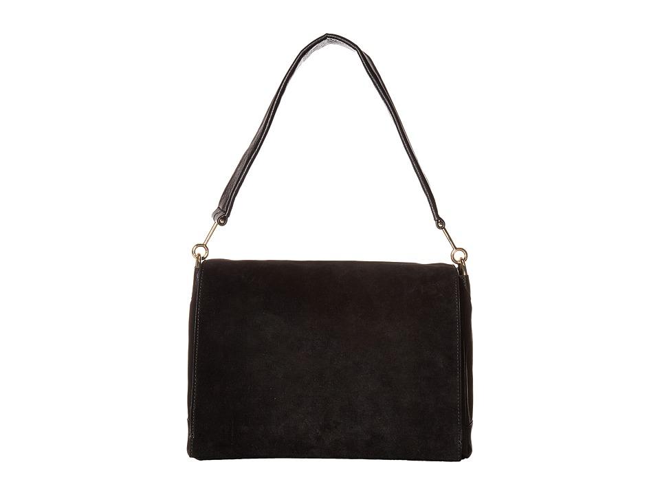 Vince Camuto - Jan Flap (Black) Handbags