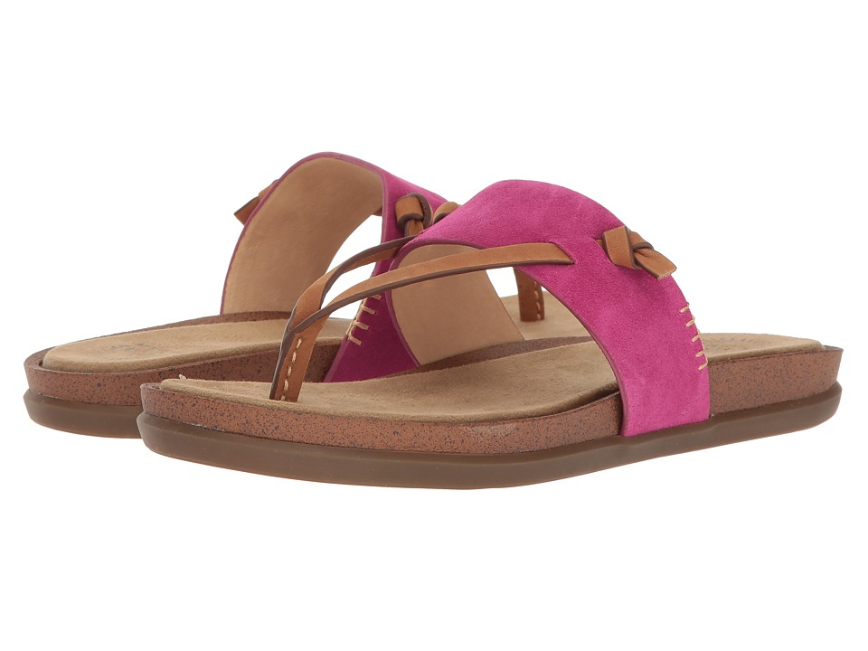 G.H. Bass & Co. Shannon (Magenta Suede) Women