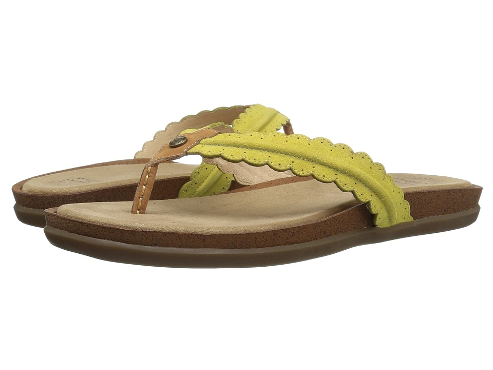 G.H. Bass & Co. Samantha (Limoncello Suede) Women