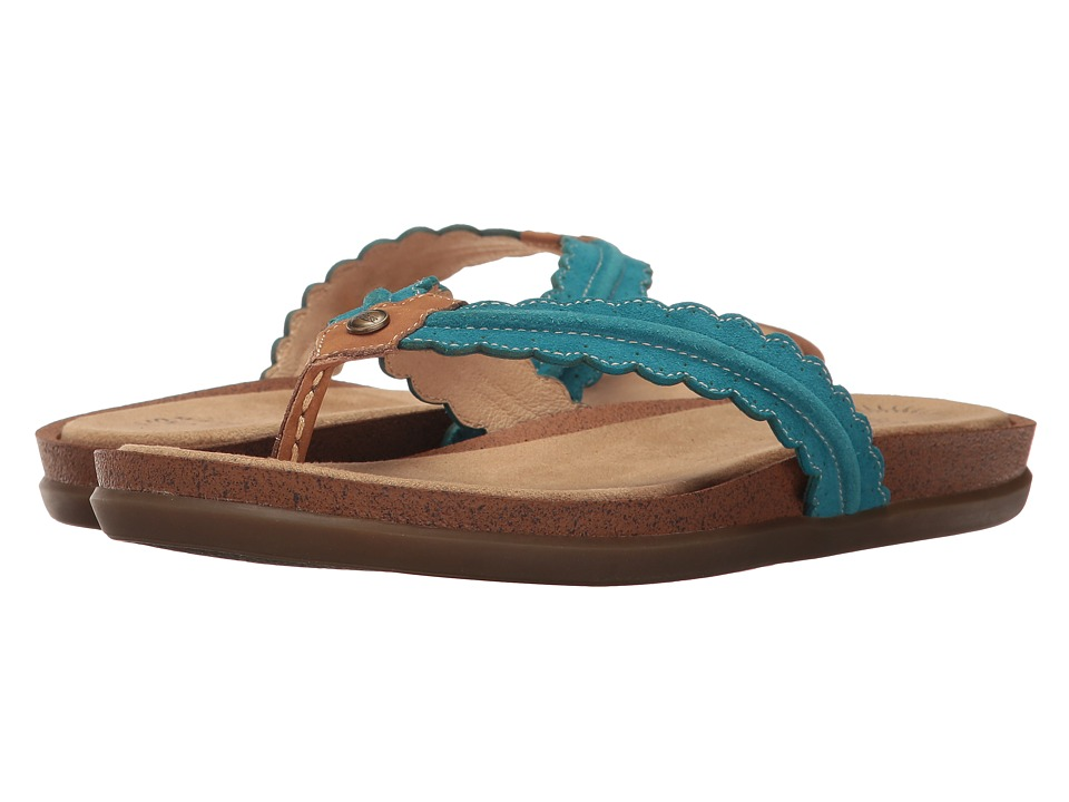 G.H. Bass & Co. Samantha (Teal Suede) Women