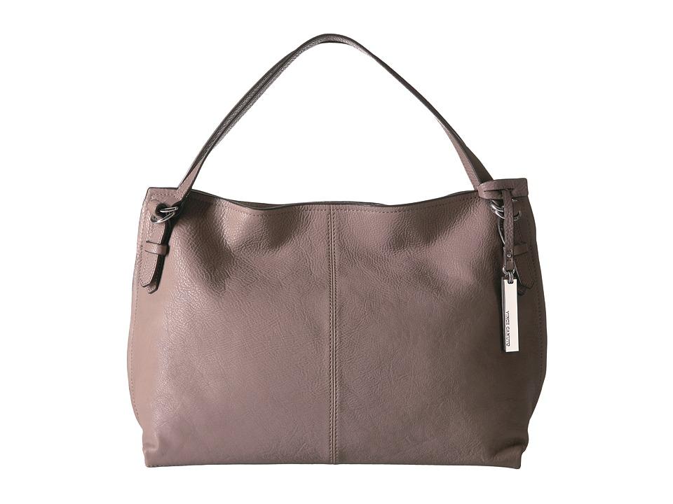 Vince Camuto - Aniko Satchel (Fossil Grey) Satchel Handbags