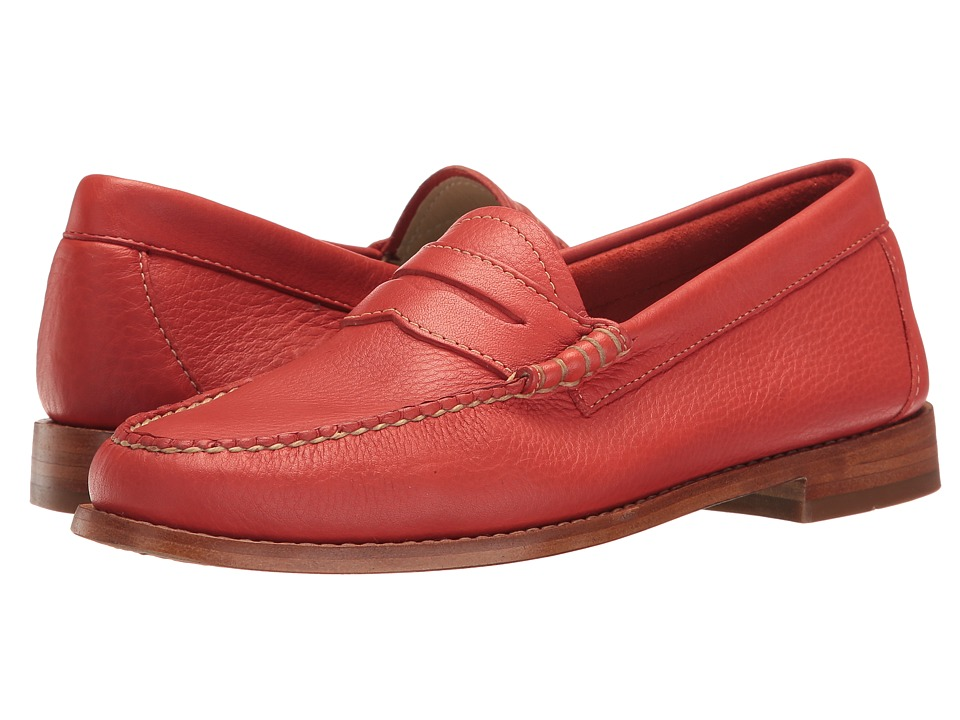 G.H. Bass & Co. - Whitney Weejuns (Poppy Soft Tumbled Leather) Women's Shoes