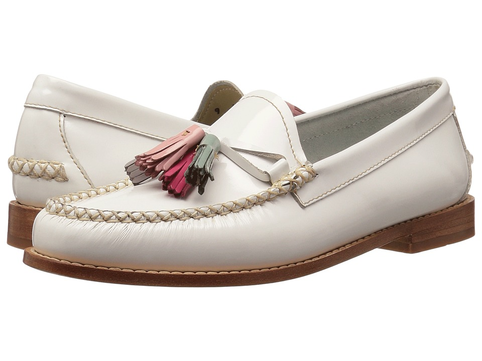 G.H. Bass & Co. - Willow Weejuns (White Patent Leather) Women's Shoes