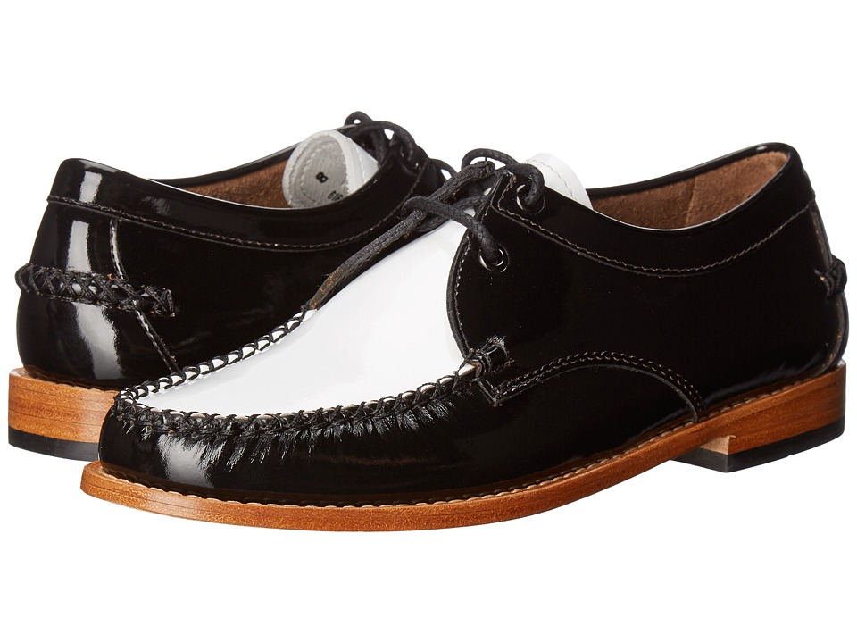 G.H. Bass & Co. Winnie Weejuns (Black/White Patent Leather) Women