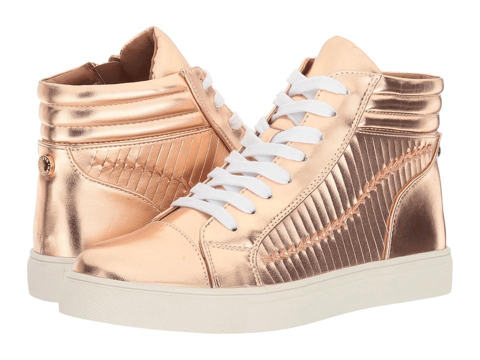 Steve Madden - Enrique (Rose Gold) Women's Lace up casual Shoes