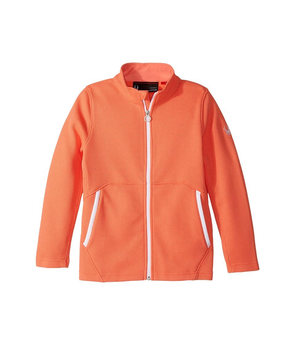 Spyder Kids Endure Stryke Jacket (Big Kids) (Coral) Girl
