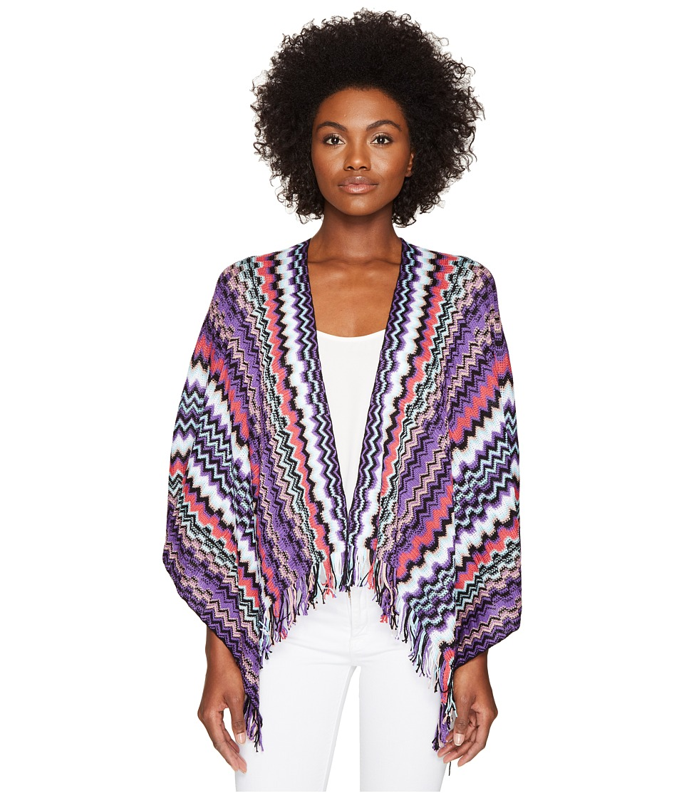 Missoni - Cape (Multi Purple) Women's Clothing