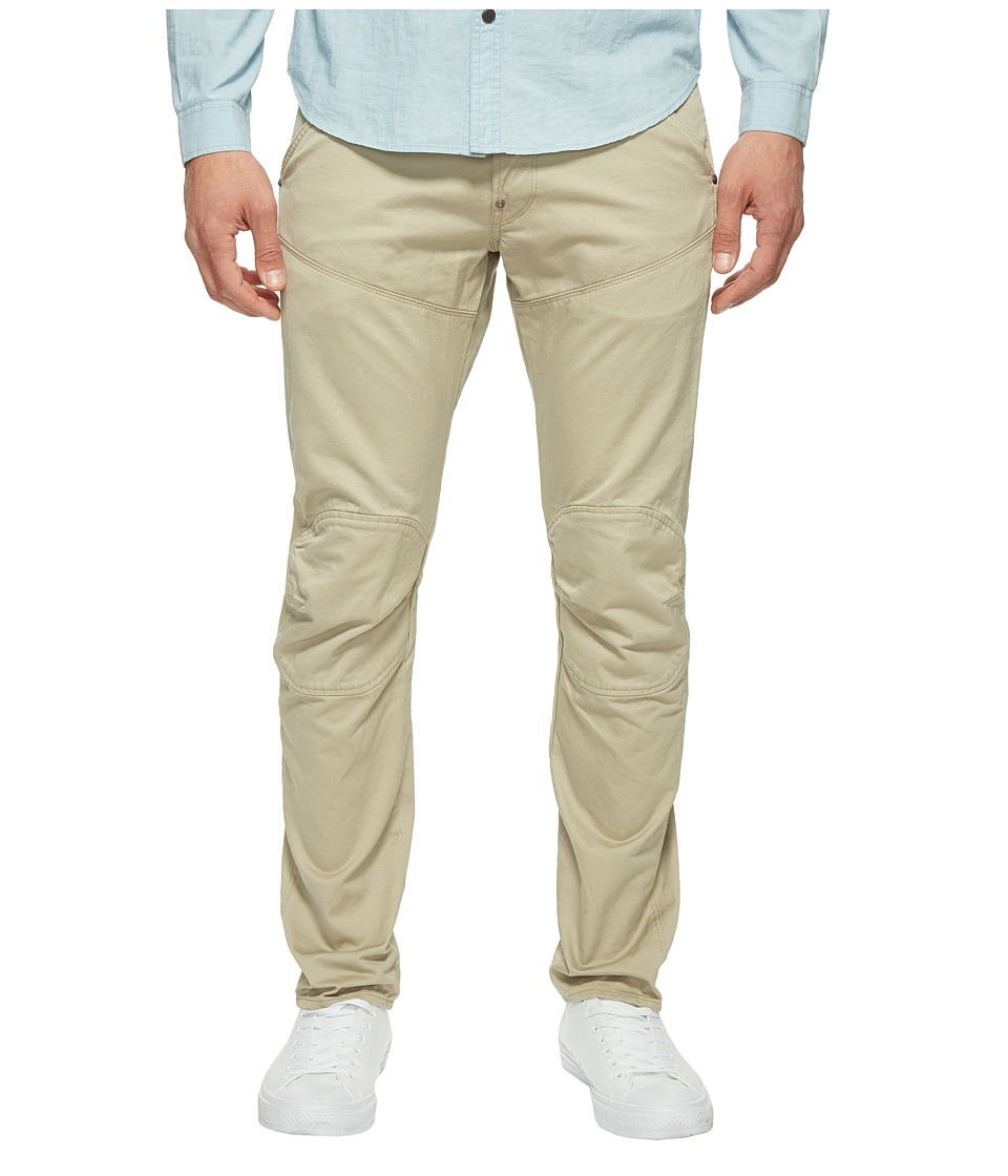 G-Star - 5620 3D Tapered Colored Jeans in Khaki (Khaki) Men's Jeans