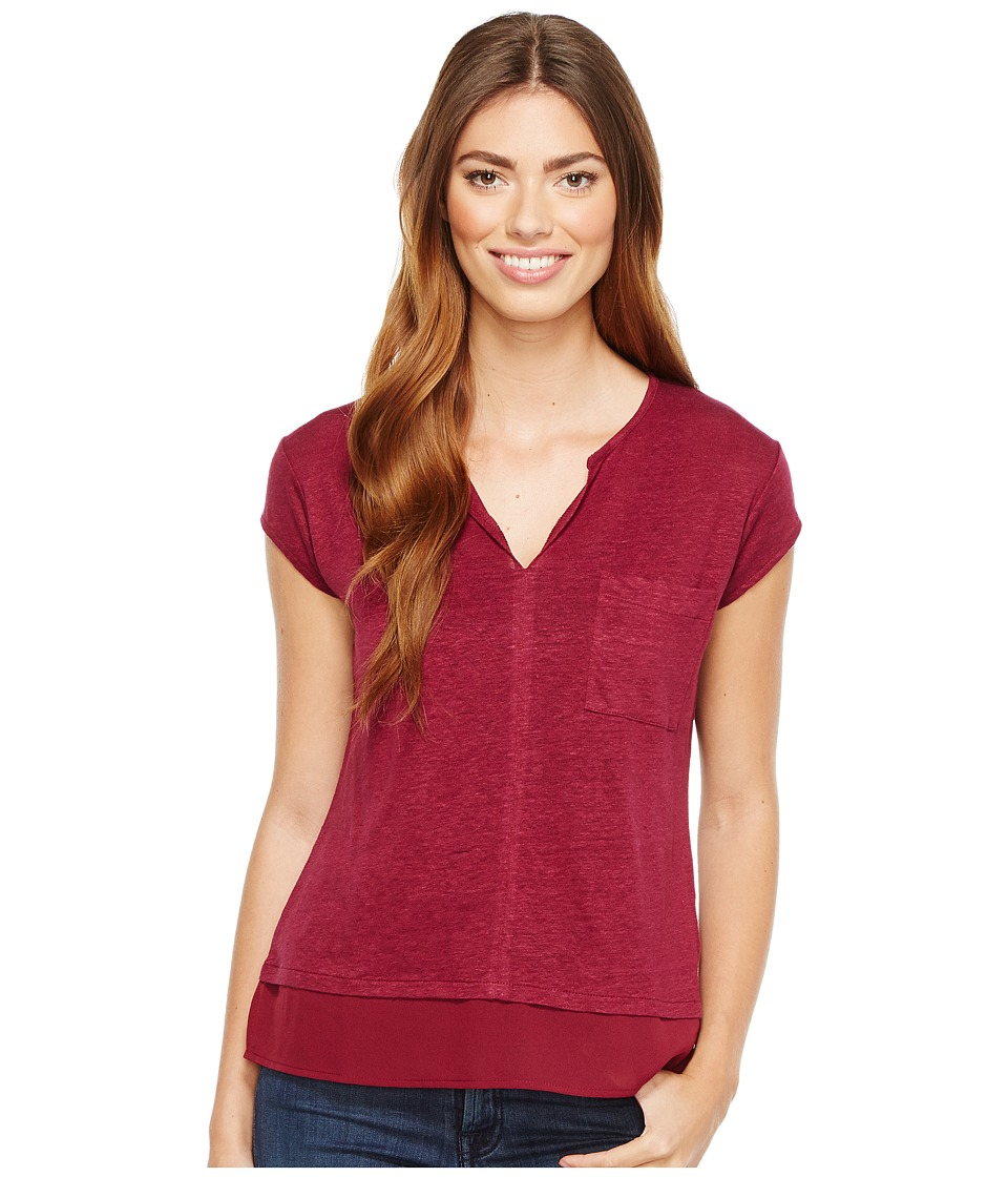 Sanctuary - City Mix Tee (Bright Kenya) Women's Short Sleeve Pullover