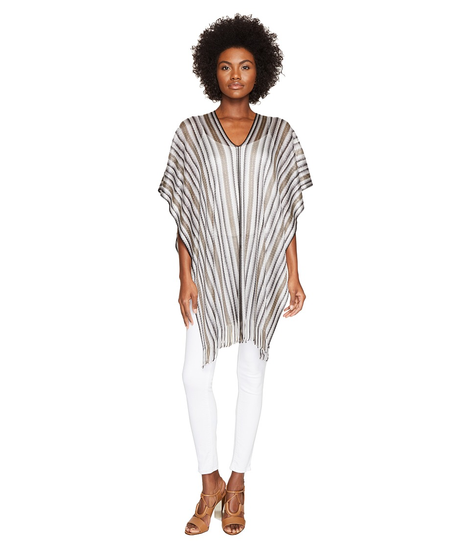 Missoni - Poncho (Grey/Black) Women's Clothing