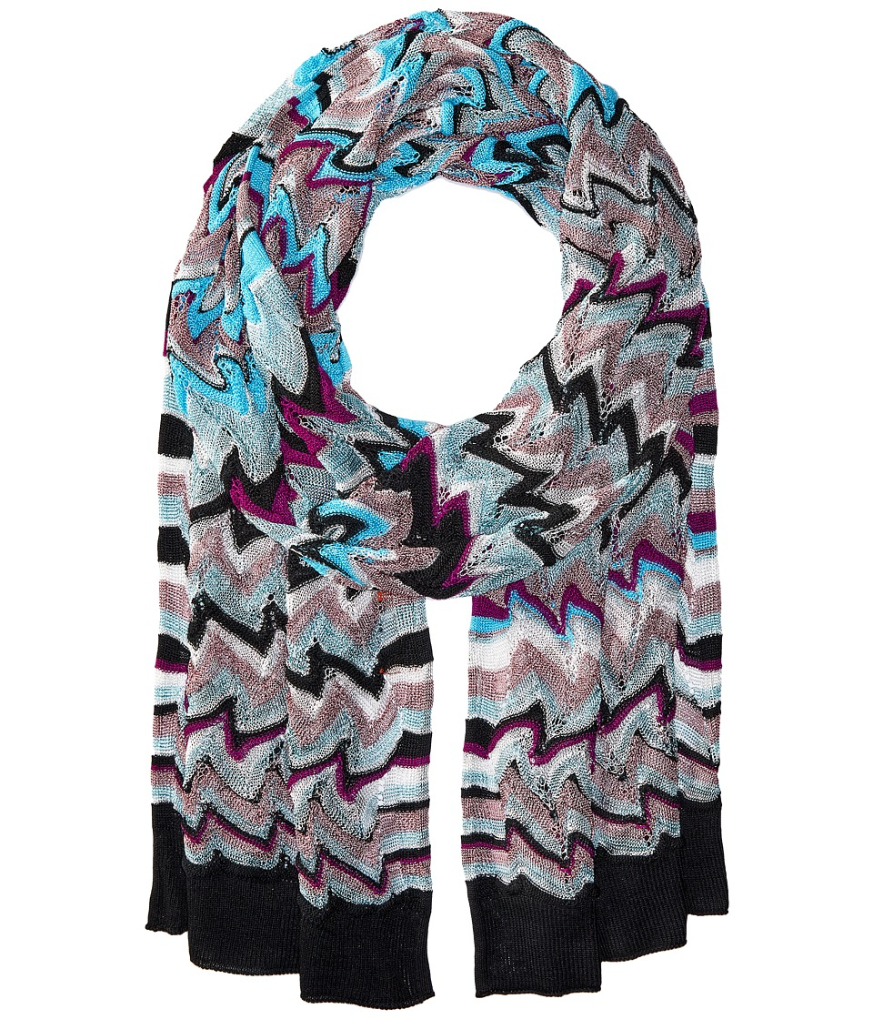 Missoni - Scarf (Multi Blue) Scarves