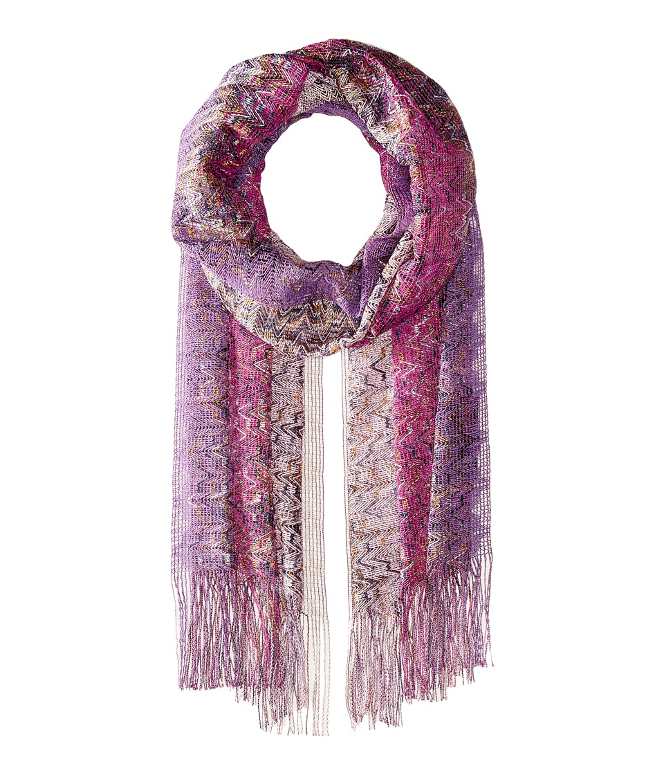 Missoni - Scarf (Multi Purple) Scarves