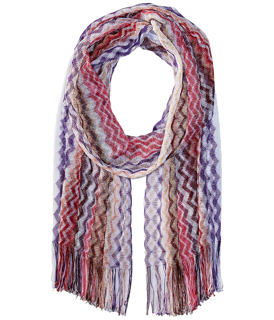 Missoni - Scarf (Multi Purple/Red) Scarves
