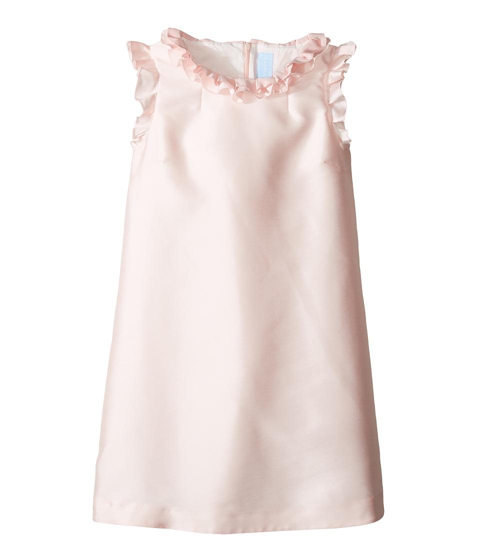 Lanvin Kids - Dress w/ Ruffle Collar Sleeve Detail (Big Kids) (Pink) Girl's Dress