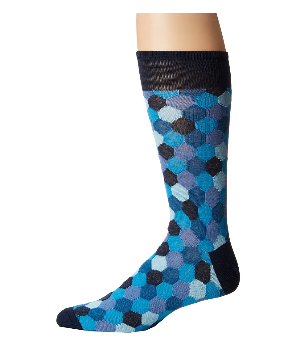 Missoni - Ankle Socks (Multi Blue) Men's Crew Cut Socks Shoes