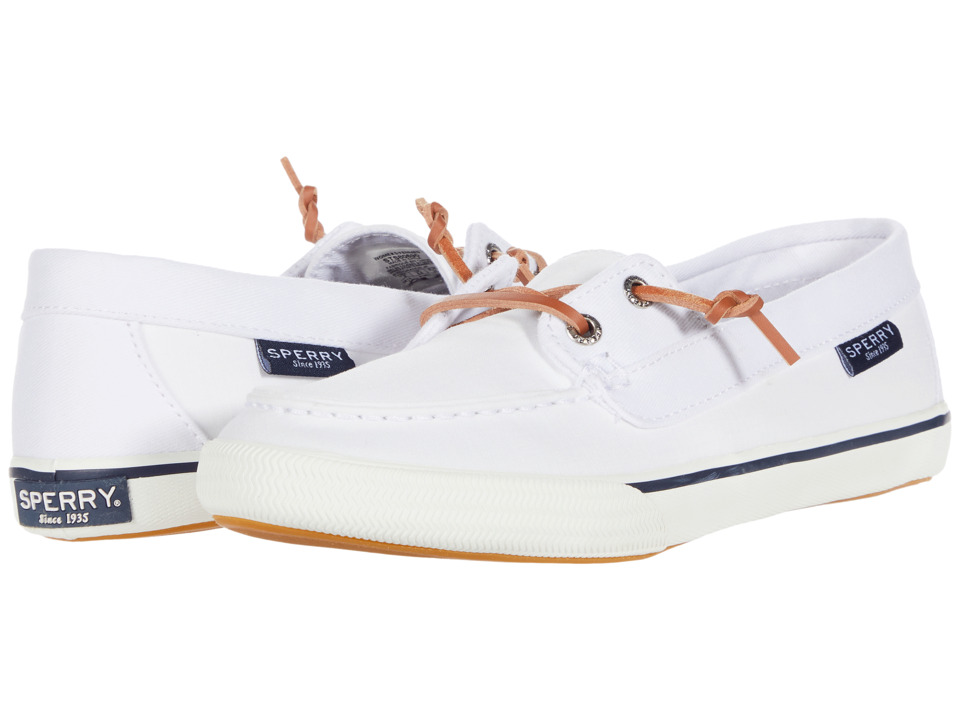 Sperry - Lounge Away (White) Women's Shoes