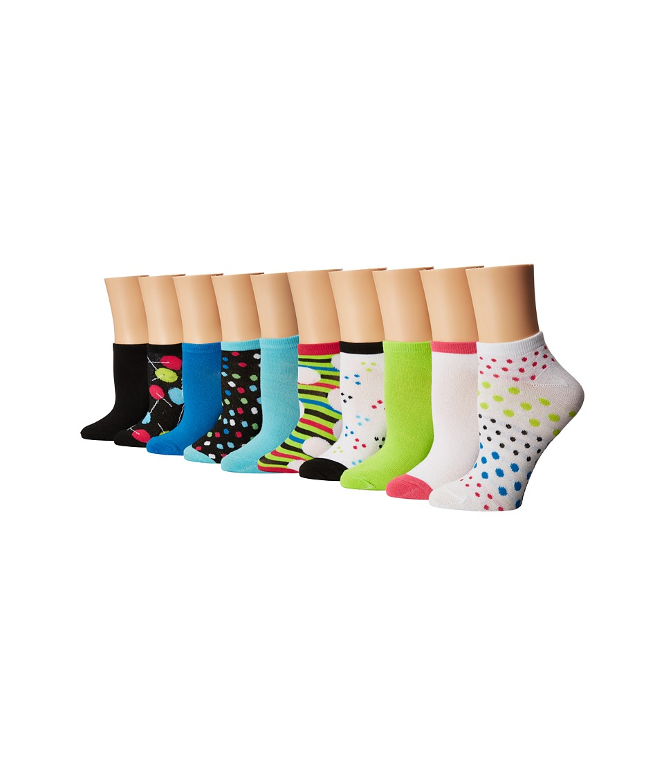 Steve Madden - 5-Pack Crews (Toddler/Little Kid/Big Kid) (Black) Women's Crew Cut Socks Shoes