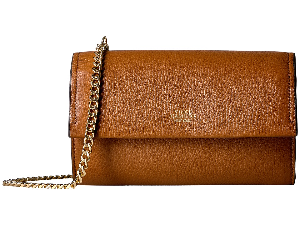 Vince Camuto - Zosia Crossbody (Dark Rum) Cross Body Handbags