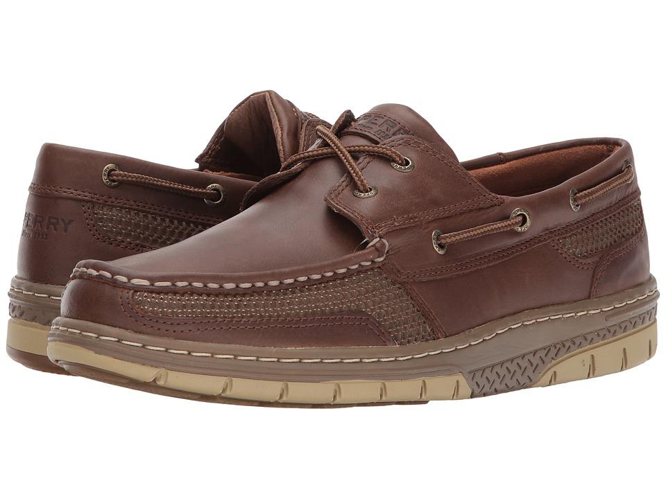 Sperry - Tarpon Ultralite 2-Eye (Dark Brown) Men's Shoes