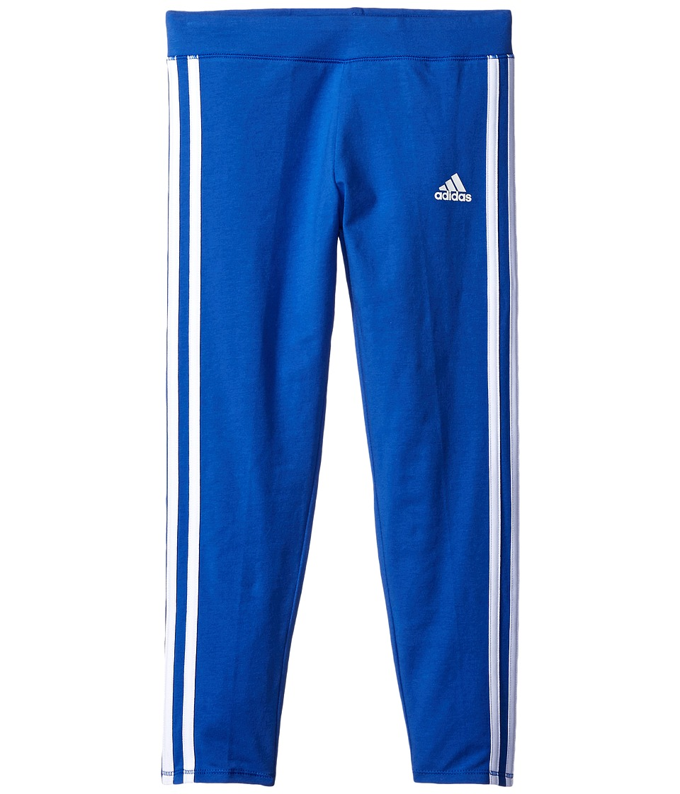 adidas Kids - 7/8 Length Tights (Big Kids) (Medium Blue) Girl's Casual Pants